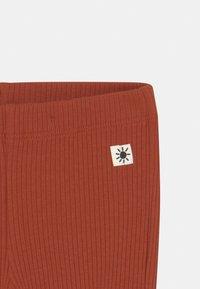 Lindex - BASIC 2 PACK UNISEX - Leggings - Trousers - dark dusty orange - 3