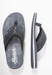 Rieker - T-bar sandals - ozean - 1