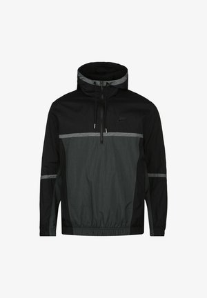 Outdoor jacket - black / dark smoke grey / iron grey