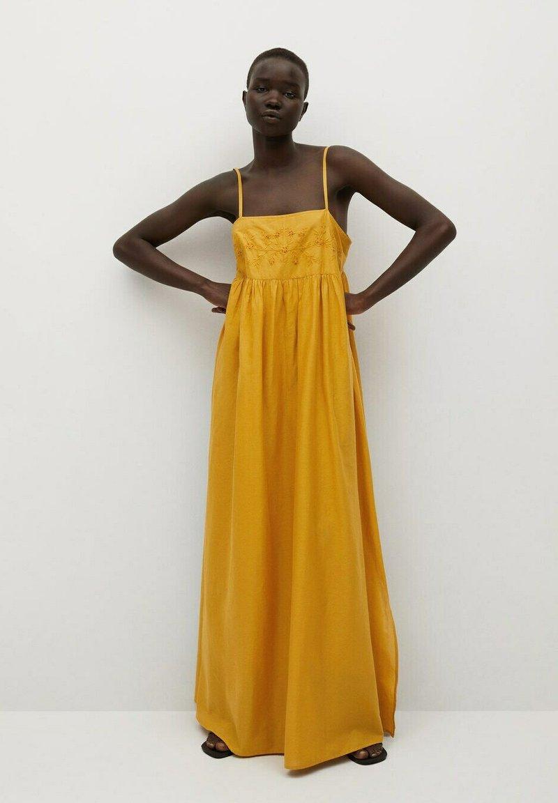 Mango - Maxi dress - moutarde