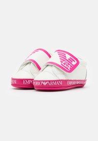 Emporio Armani - First shoes - white - 1
