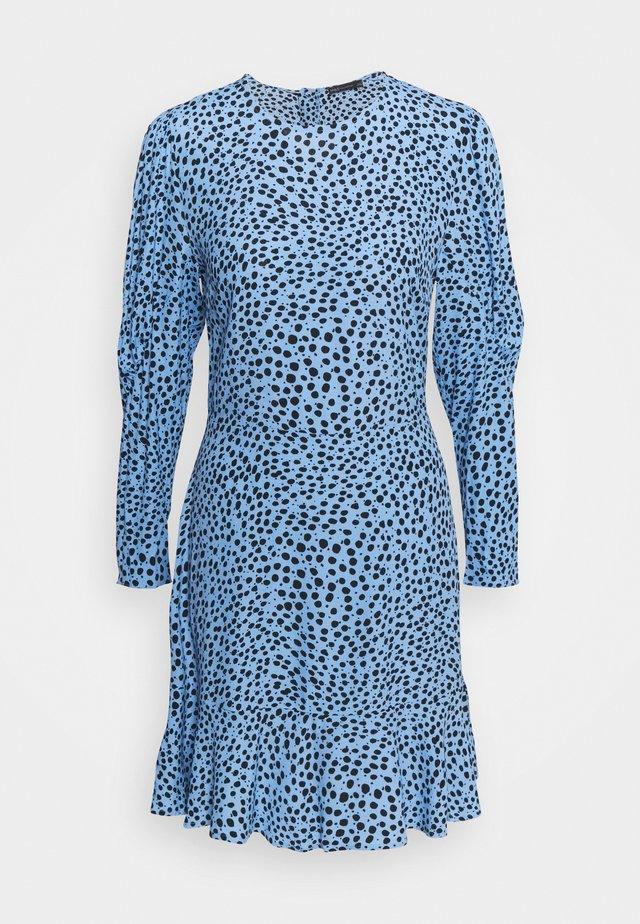 SPOT PUFF MINI - Sukienka letnia - blue