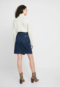 Leon & Harper - JACQUIE BRUT - Pencil skirt - blue - 2