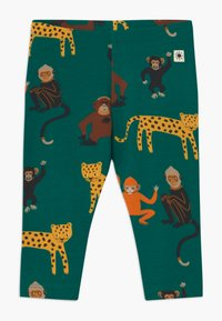 Lindex - LEO AND MONKEY 2 PACK - Leggings - Trousers - green - 1