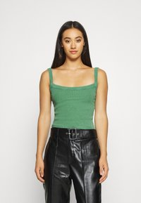 BDG Urban Outfitters - CROPPED TANK - Toppe - juniper green - 0