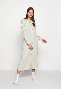 esmé studios - BARBARA DRESS - Shirt dress - green tint - 1