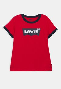 Levi's® - BATWING RINGER TEE - T-Shirt print - super red - 0
