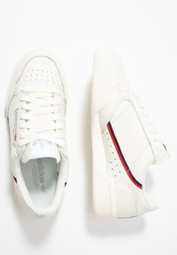 adidas Originals - CONTINENTAL 80 - Trainers - white tint/offwhite/scarlet - 2