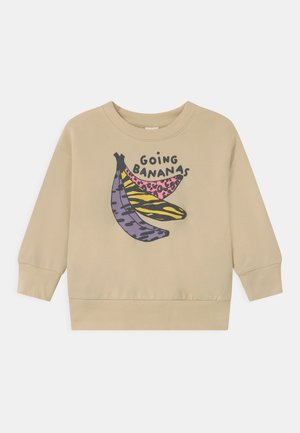 MINI GOING BANANAS UNISEX - Sweatshirts - light beige