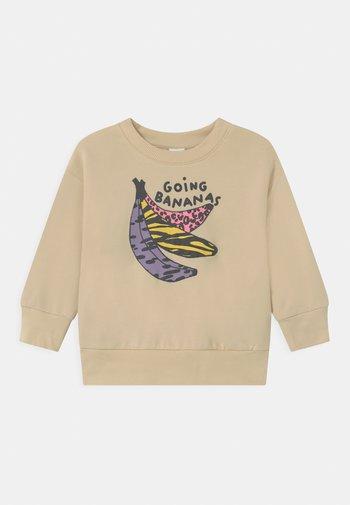 MINI GOING BANANAS UNISEX - Sweater - light beige