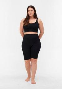 Zizzi - NAHTLOSE  - Shorts - black - 1