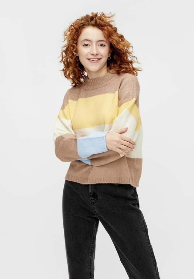 Sweter - natural