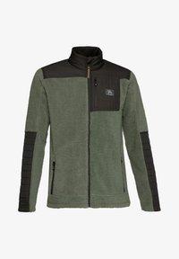 Protest - ADAM - Fleece jacket - green spray - 5
