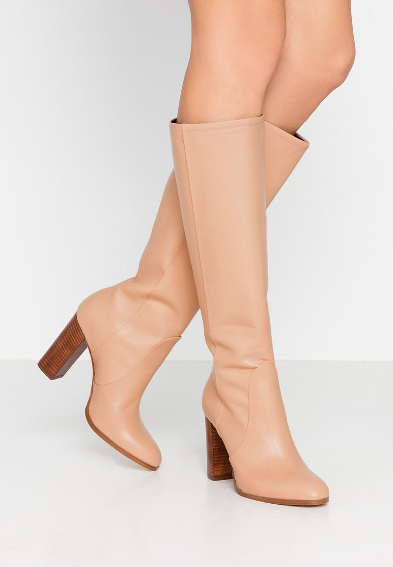 Cosmoparis - SILONI - High heeled boots - nude