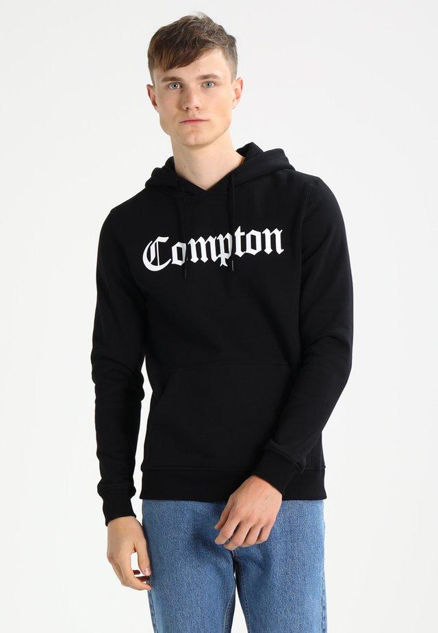 COMPTON  - Mikina skapucí - black