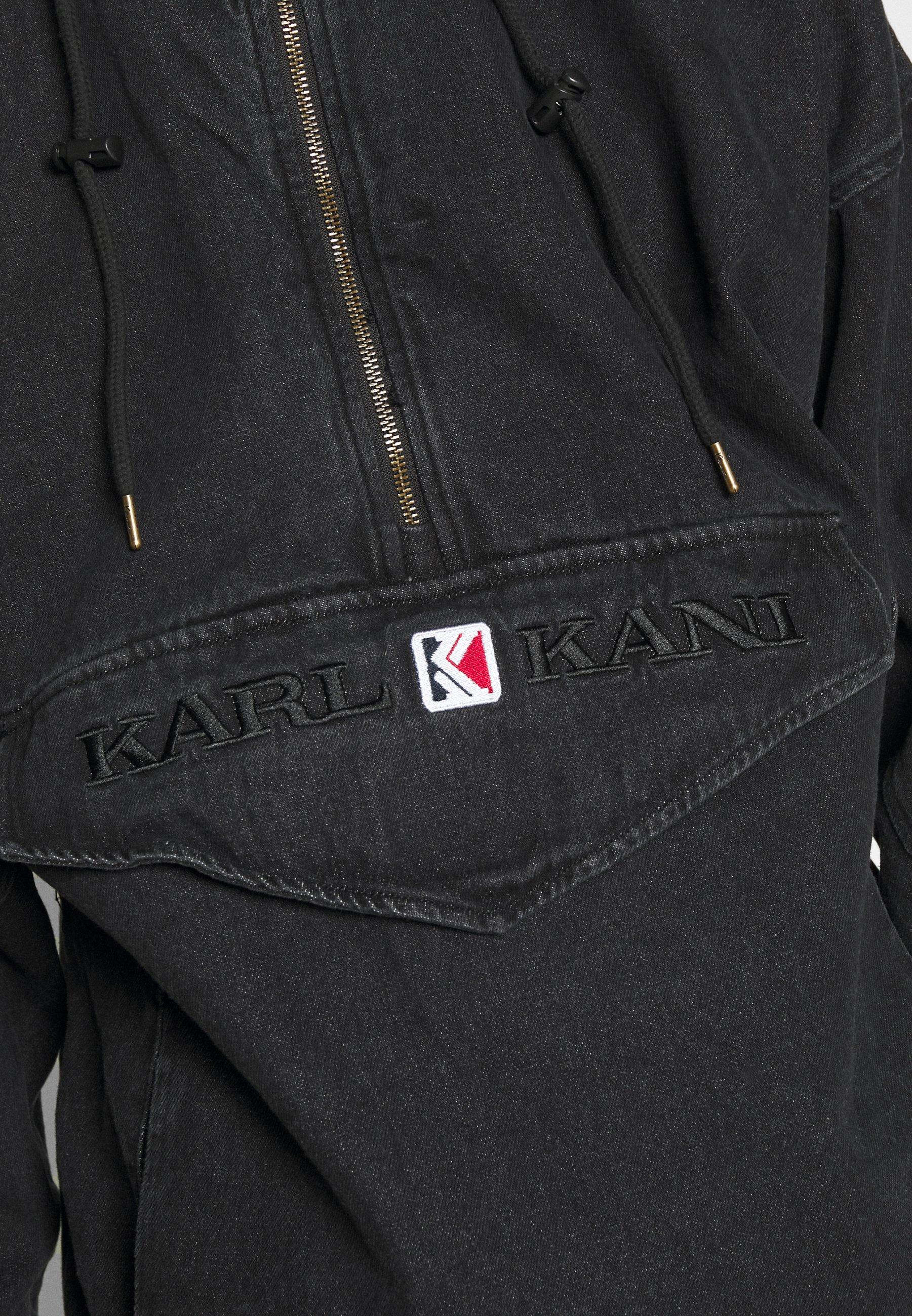 Karl Kani Retro Washed - Windbreaker Black