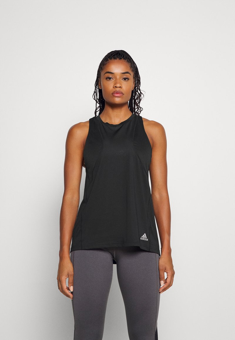 adidas Performance - TANK - Funkční triko - black