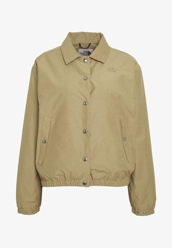 WOMEN'S COACH JACKET - Outdoor jacket - kelp tan