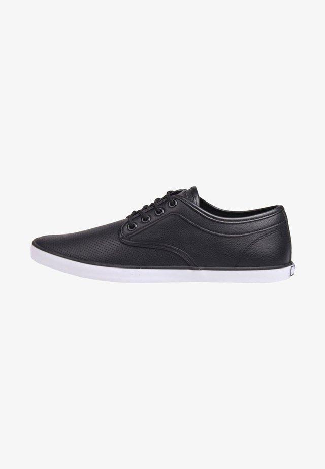 Chaussures à lacets - black/white