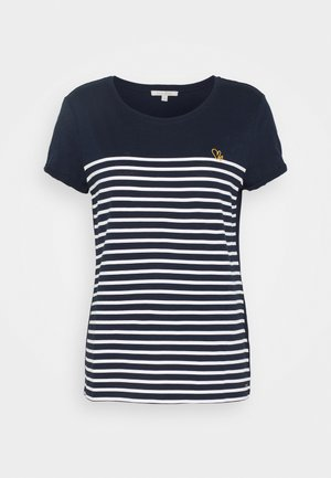 T-Shirt print - real navy blue