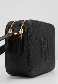 Lauren Ralph Lauren - CLASSIC PEBBLE HAYES - Across body bag - black - 6