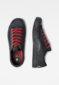 G-Star - ROVULC 50 YEARS DENIM LOW - Sneakers laag - black - 1
