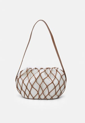 SONNY BAG - Handbag - ivory/brown