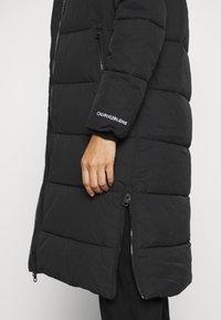 Calvin Klein Jeans - PEACHED LONG PUFFER - Winter coat - black - 6