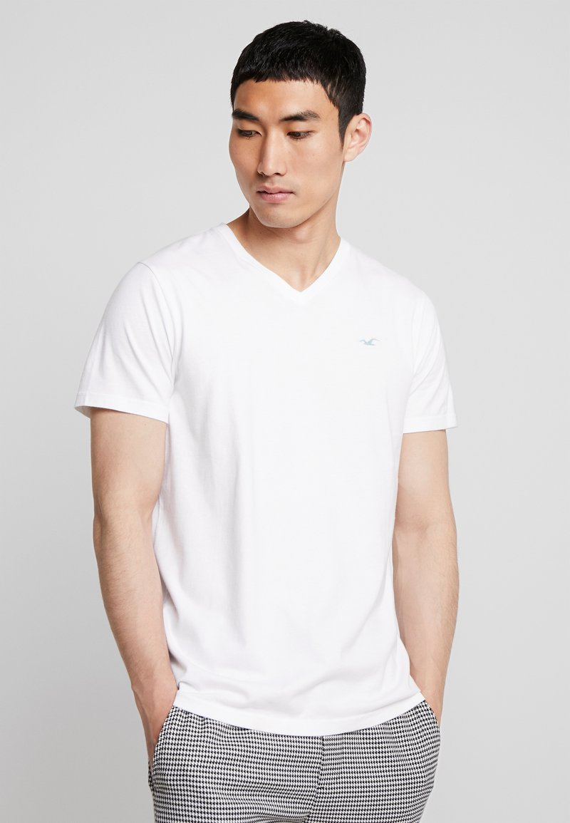 Hollister Co. - ICON VARIETY  - T-shirt basique - white