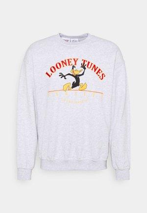 WITH VARSITY LOONEY TUNES GRAPHIC - Sweatshirt - ash grey