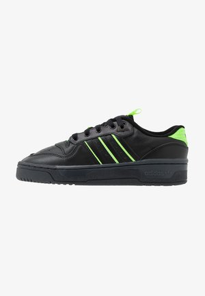 RIVALRY BASKETBALL-STYLE SHOES - Baskets basses - core black/solar green