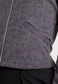 Vero Moda - VMKAMMA CARDIGAN - Cardigan - medium grey melange - 5