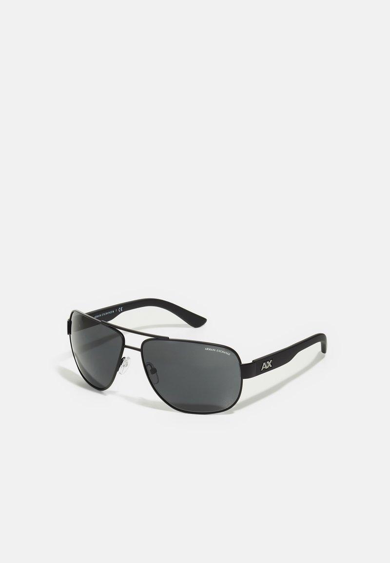 Armani Exchange - Sunglasses - satin black