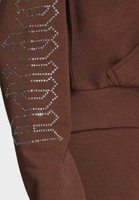 adidas Originals - Sudadera con cremallera - brown - 8