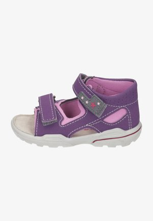 Walking sandals - cassis/rosada