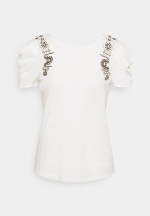 DEANA - T-shirt z nadrukiem - off white