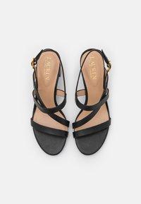 Lauren Ralph Lauren - MACKENSIE - Sandals - black - 4