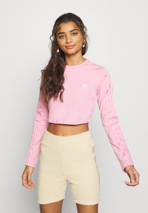 CROP - Long sleeved top - lightpink