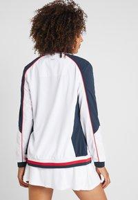 Fila - JACKET AMANDA - Sportovní bunda - white/blue/red - 2