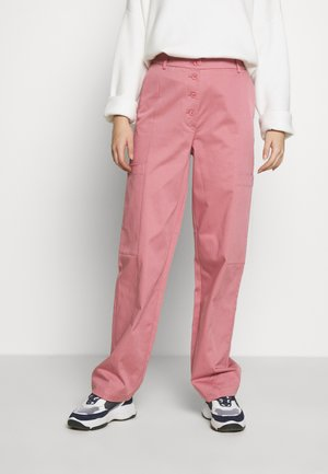 SLFLARA TAPPERED PANT - Pantalones - heather rose