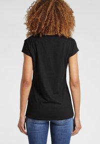 Gang - BASE VIVA - Print T-shirt - black - 1