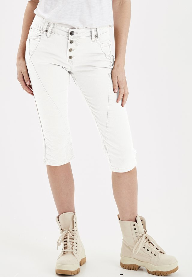 PZROSITA  - Denim shorts - bright white