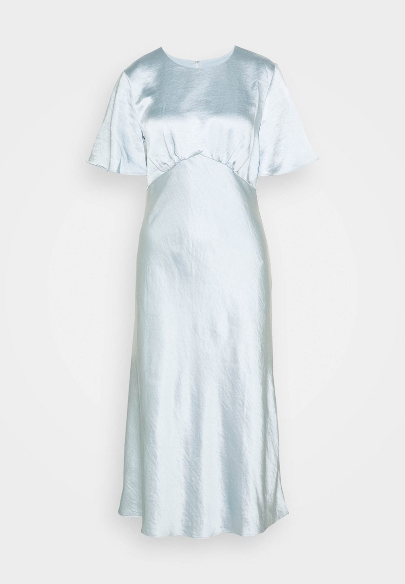 Third Form - GATHER TEE BIAS MIDI - Cocktail dress / Party dress - powder blue