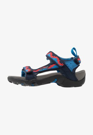 Walking sandals - blue/red