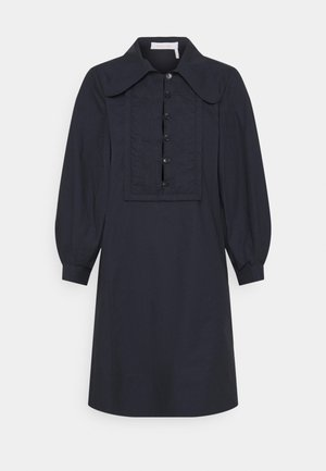 Shirt dress - navy