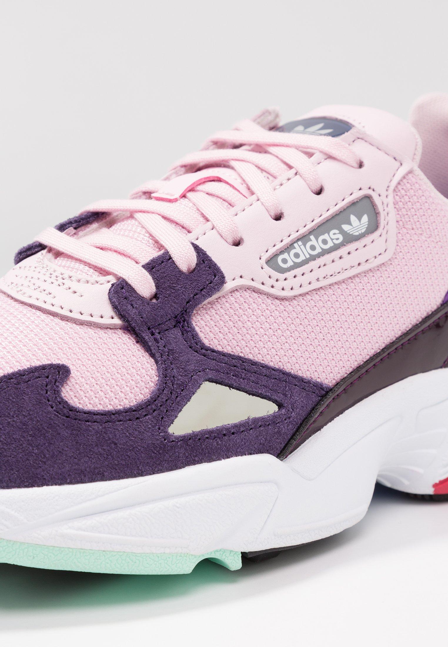 FALCON - Baskets basses - clear pink/legend purple