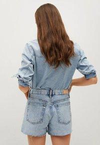 Mango - HAILEY - Szorty jeansowe - bleu clair - 2