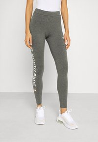 The North Face - SLOGAN - Leggings - Trousers - medium grey heather - 0