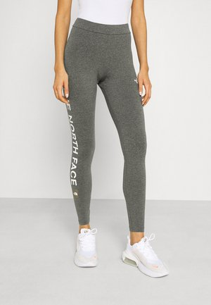 SLOGAN - Leggings - medium grey heather