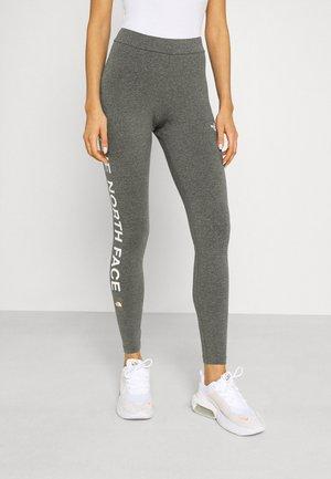 SLOGAN - Leggings - Trousers - medium grey heather